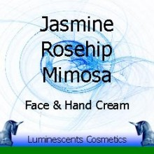 jasmine, rosehip and mimosa cream