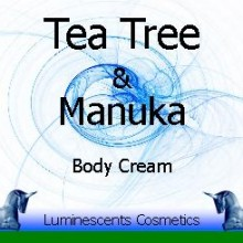 tea tree and manuka cream