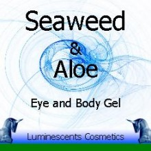 seaweed and aloe eye and body gel