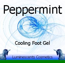 peppermint foot gel