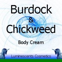 burdock and chickweed cream