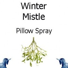 winter mistle pillow spray