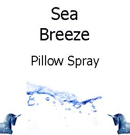 sea breeze pillow spray
