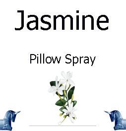 Jasmine Pillow Spray