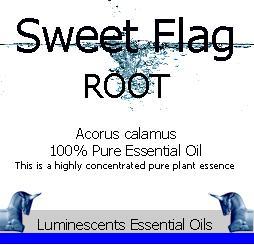 Sweet Flag |Essential OIl Label