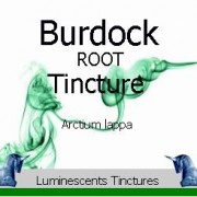 burdock root tincture label