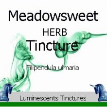 meadowsweet tincture label