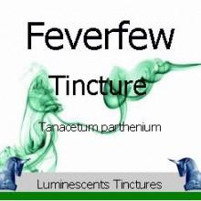 feverfew tincture label