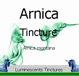 arnica flower tincture label