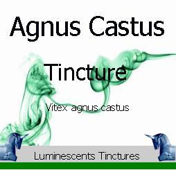 agnus castus tincture label