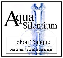 aqua silentium lotion tonique
