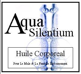 aqua silentium huile corporeal
