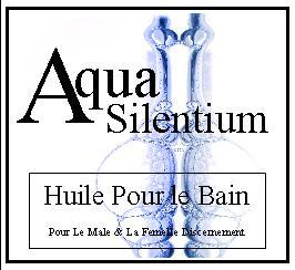 aqua silentium huile pour le bain