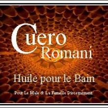 cuero romani huile pour le bain