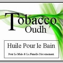 tobacco oudh huile pour le bain