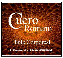 Cuero Romani Huile Corporeal