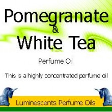 pomegranate and white tea perfume oil