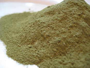 Parsley leaf fine ground powder