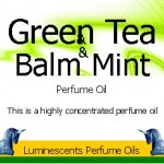 Green Tea and Balm Mint
