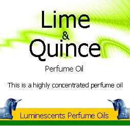 lime and quince perfume oil