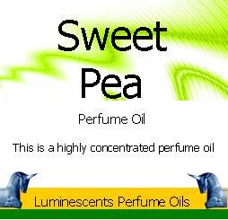 sweet pea perfume oil