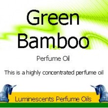 green bamboo perfume oil