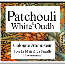 Patchouli & White Oudh Cologione Atomiseur