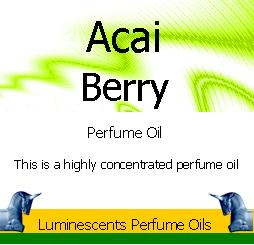 Acai Berry Perfume Oil