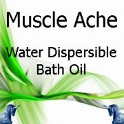 Muscle Ache Water Dispersible Bath Oil