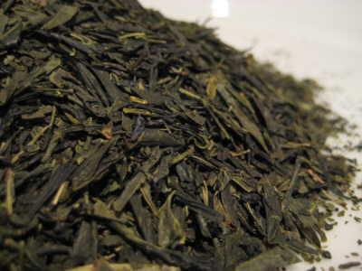 Japanese-Green-Sencha-leaves