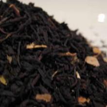 blackcurrant flavoured tea leaves