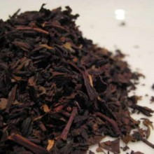 Formosa-oolong tea leaves