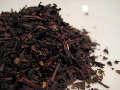 Formosa-oolong tea leaves