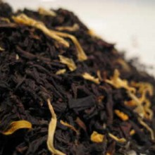 mango flavoured black tea leaves