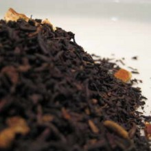 spiced orange black tea leaves