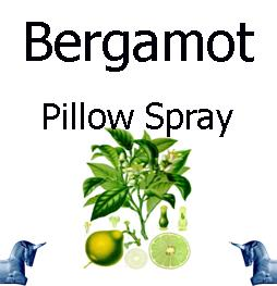 Bergamot Pillow Spray