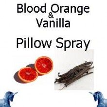 Blood Orange & Vanilla Pillow Spray