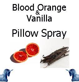Blood Orange & Vanilla Pillow Spray