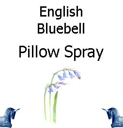 english bluebell pillow spray