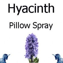 Hyacinth Pillow Spray