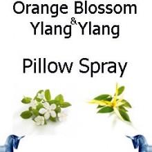 Orange Blossom and ylang ylang pillow spray