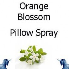 Orange Blossom Pillow Spray