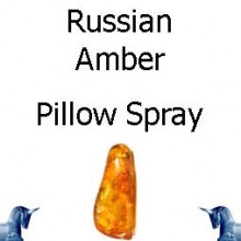 Russian Amber Pillow Spray