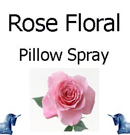 Rose Floral Pillow Spray