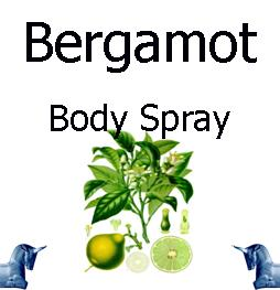 Bergamot Body Spray