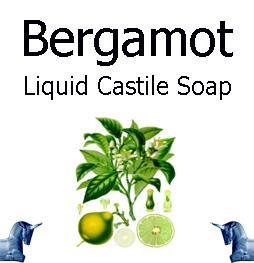 Bergamot Liquid Castile Soap