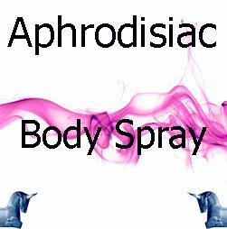 Aphrodisiac Body Spray