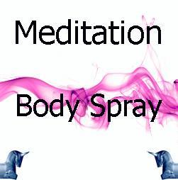 Meditation Body Spray
